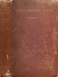 image of Early Printed Books