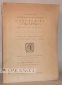 Amsterdam: Frederik Muller & Cie, 1929. stiff paper wrappers. Illuminated Manuscripts. 4to. stiff pa...