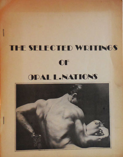 New York: City Lights Books, 1973. First edition thus. Paperback. Very Good. Tall, side-stapled wrap...