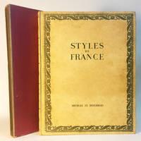 Styles De France: Meubles et Ensembles De 1610 a 1920