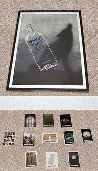 "ABSOLUT RUSCHA"": ABSOLUT VODKA LIMITED EDITION LITHOGRAPH"