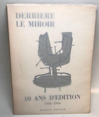 Paris: Maeght, 1956. paperback. fine. Includes the original b/w lithograph by Bazaine, but LACKING t...
