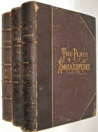 THE WORKS OF WILLIAM SHAKESPEARE. Illustrated. Folios. First Edition Edited by Charles and Mary Cowden Clark. Complete in 3 volumes