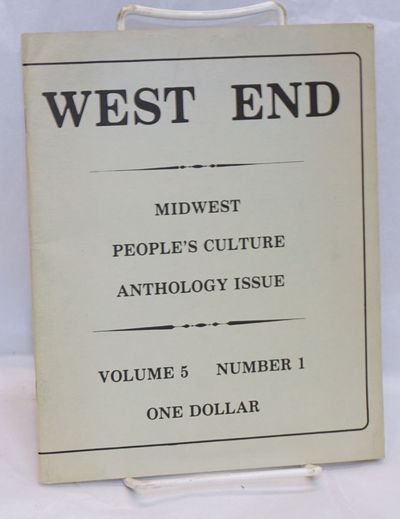 New York: West End, 1978. 48p., 7x8.5 inches, staplebound wraps. Very good.
