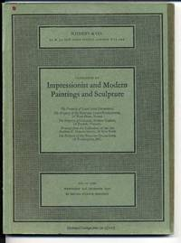 Catalogue of Impressionist and Modern Paintings and Sculpture, 28 Mar 1973