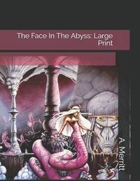 image of The Face in the Abyss : Large Print