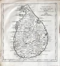 Karte von dem Eylande Ceylan.