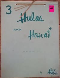 3 Hulas from Hawaii - Hula Book #6