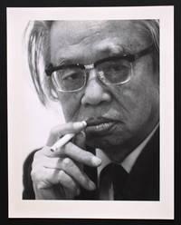 Portrait photographique de Seichô Matsumoto par Bruno de Monès (tirage vintage signé)
