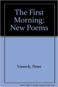 First Morning: New Poems