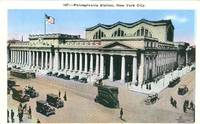 Pennsylvania Station, New York City early 1900s unused Postcard