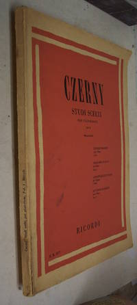 CZERNY STUDI SCELTI  Per Pianoforte VOL. I