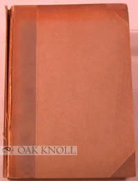 Dresden: C.C. Meinhold & Söhne, 1906. half cloth with paper-covered boards, original stiff paper wr...