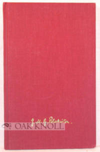 (Winchester: Winchester College, 1985. cloth. 8vo. cloth. 72 pages. Being the first book appearance ...