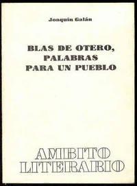 Blas de Otero, palabras para un pueblo
