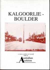Kalgoorlie - Boulder.