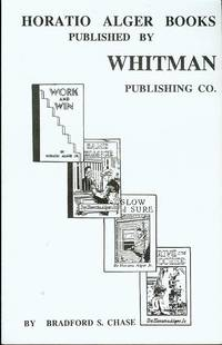 Horatio Alger Books: Published by Whitman Publishing Co.