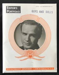 GUYS AND DOLLS (Original 1955 Press Kit for the Film Musical)