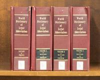 image of World Dictionary of Legal Abbreviations. 4 Vols. through Sept 2019