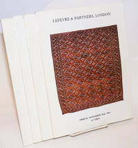 Lefevre & Partners, London, four catalogues : Rare Oriental Carpets [& Textiles and Reference Books, 25 Nov 83]; [ditto, 17 Feb 84]; [& Kilims, 6 Apr 84] [& Flatweaves, 14 June 85] four unduplicated catalogues as a lot
