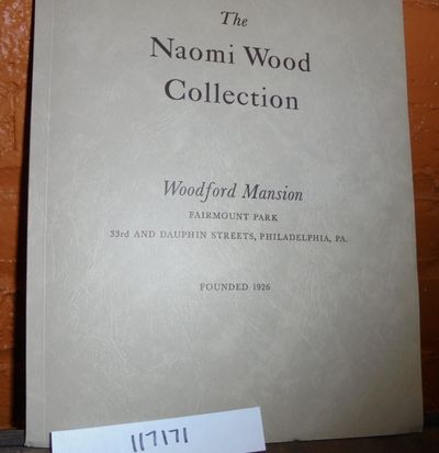 Philadelphia: Woodford Mansion, 1947. Softcover. VG (Only slight aging overall; envelope has borne t...