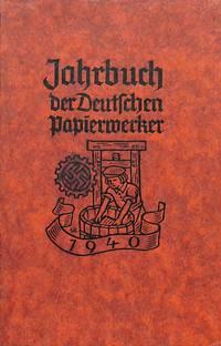 JAHRBUCH DER DEUTSCHEN PAPIERWERKER. by PAPER) - from Frits Knuf Antiquarian Books (SKU: 12484)