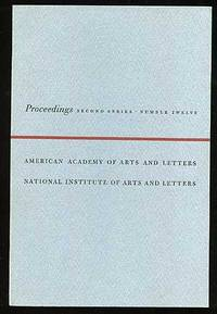 New York: Spiral Press, 1962. Softcover. Fine. First edition, publication no. 204. Fine in wrappers ...