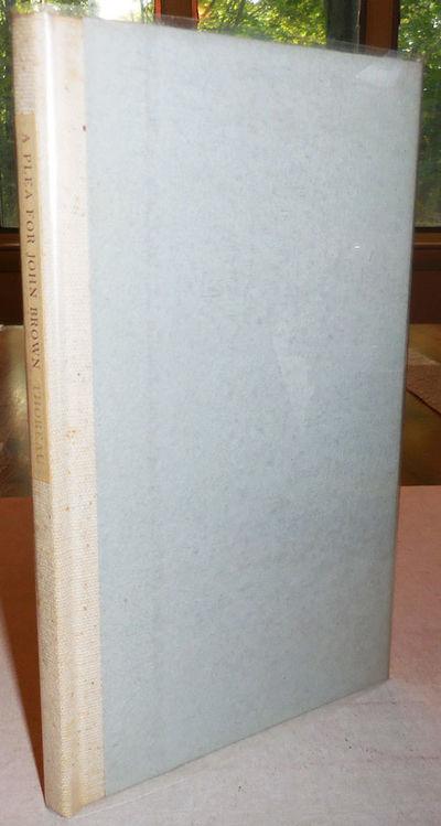 Boston: David R. Godine, 1969. First edition. Hardcover. Near Fine. 8vo. 33 pp. Fine press edition. ...