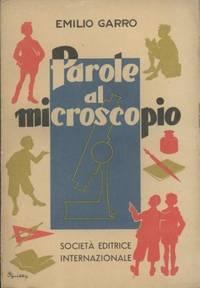 PAROLE AL MICROSCOPIO
