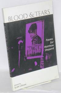 image of Blood_tears; poems for Matthew Shepard