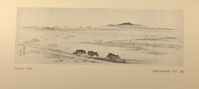 1924. LEDOUX, Louis V. A DESCRIPTIVE CATALOGUE OF AN EXHIBITION OF JAPANESE LANDSCAPE, BIRD, AND FLO...