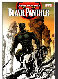 image of COLOR YOUR OWN BLACK PANTHER.