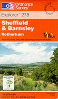 image of Sheffield and Barnsley (Explorer Maps)