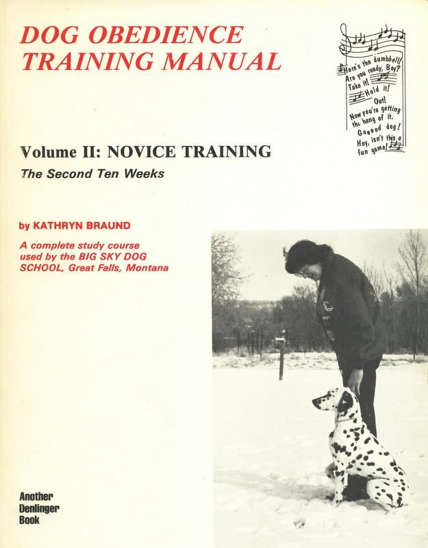 Dog Obedience Training Books Uk