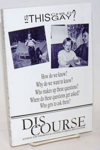 Discourse: journal for theoretical studies in media and culture; #15.1, Fall 1992; Essays in Lesbian & Gay Studies