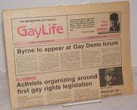image of Chicago GayLife: the Midwestern gay weekly; vol. 8, #34, Thursday, February 3, 1983; Byrne to Appear at Gay Dems Forum