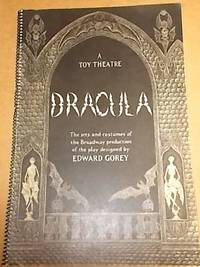 image of DRACULA: A Toy Theatre. The sets and costumes of the Broadway production of the play.