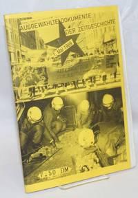 image of Ausgewählte Dokumente der Zeitgeschichte: 1. Mai 1989