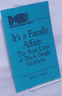 image of It's a family affair: the real lives of black single mothers
