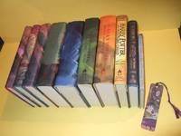 TEN VOLUMES: Harry Potter Sorcerer's Stone (AKA Philosopher's ); Chamber Secrets; Prisoner Azkaban; Goblet Fire; Order Phoenix; Half Blood Prince; Deathly Hallows -book 1, 2, 3, 4, 5, 6, 7 & The Cursed Child Play, ,  Fantastic Beasts, Tales of Beedle Bard