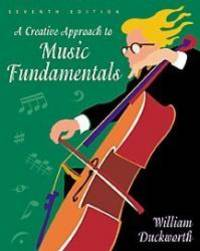 image of A Creative Approach to Music Fundamentals (Book & CD)