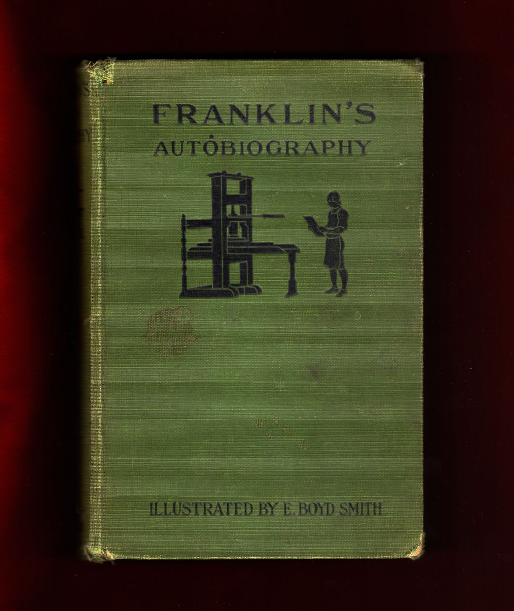 franklins autobiography Benjamin franklin his autobiography 1706-1757 picture introductory note chapter 1 chapter 2 chapter 3 picture chapter 4 chapter 5 chapter 6 chapter 7 picture chapter 8 chapter 9 chapter 10 chapter 11 chapter 12 notes events of his life a short biography the whole autobiography in one file.