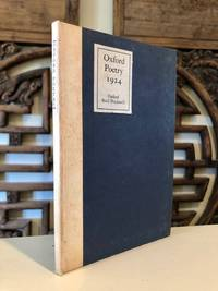 Oxford Poetry 1924 by ACTON, Harold and Peter Quennell (eds.) with Brian Howard, Edward James, A. L. Rowse, Graham Greene - 1924