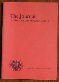 The Journal of the William Morris Society Volume VIII Number 1 Autumn 1988