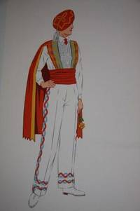 French Costumes [together with eight hand-colored cards of French costume pasted onto the endpapers]