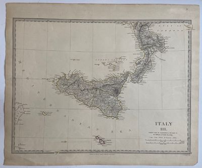 London: Baldwin & Craddock, 1830. unbound. W. B. Clarke. Map. Engraving with hand coloring. 13.5 x 1...