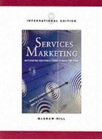Services Marketing von Valerie Zeithaml (Autor), Mary J. Bitner (Autor)