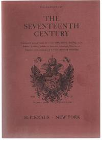 image of Catalogue 167. The Seventeenth Century. Continental printed books in various fields: History, Theology, Law, Politics, Jesuitica, Judaica_Hebraica, Genealogy, Classics, etc. Together with a selection of German illustrated broadsides.