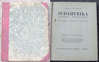 SUDAMERIKA Westindien, Zentralamerika; Landschaft, Volksleben, Baukun, Von Schumacher, Karl