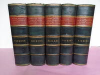 THE WORKS OF CHARLES DICKENS, EIGHTEEN TITLES (Illustrated with 52 Hand Coloured Plates in 5 Volumes.)